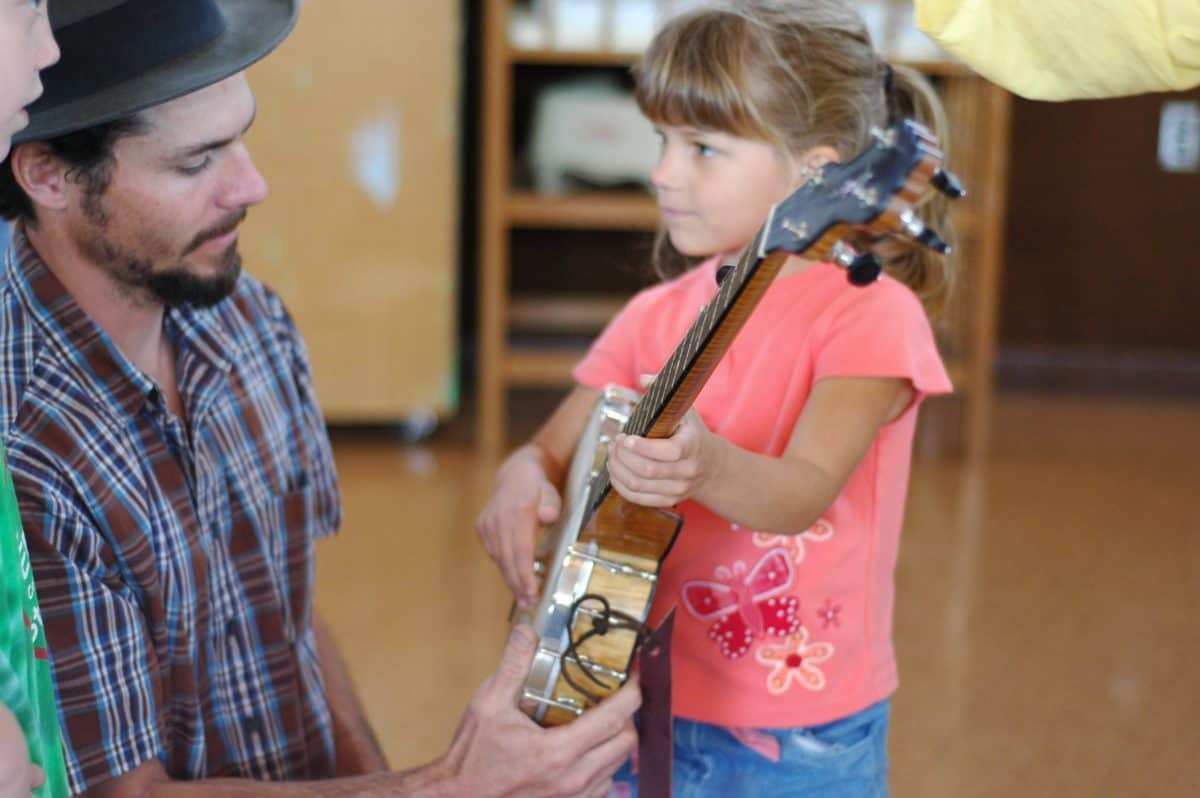 Handmade Music School and the Mobile Creative Lab in Floyd